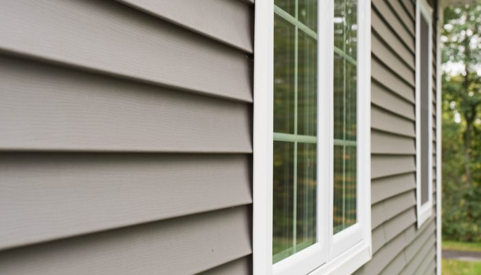three types of vinyl siding